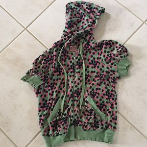Juicy couture short sleeved hoodie